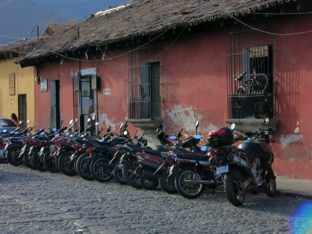 Motorbikes in Antigua