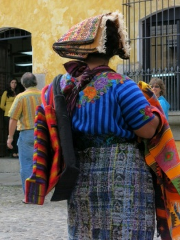 Local lady in Antigua