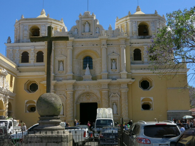 Baroque church in Antigua