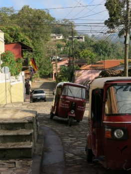 Tuk Tuks in Copan