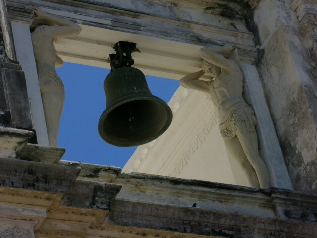 Bell in Cathedral in Leon
