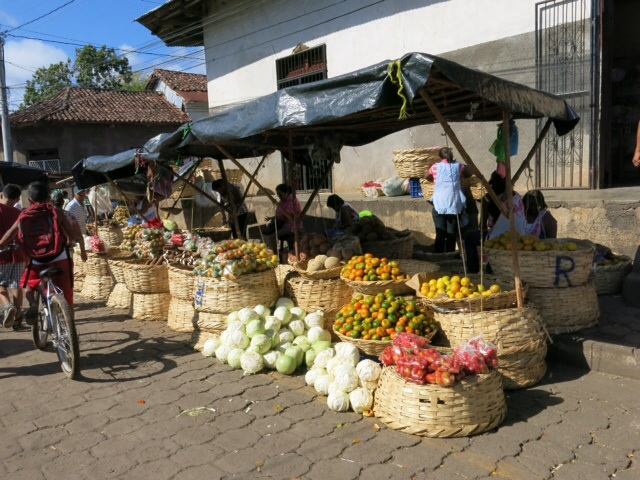 Fruit stall in the market