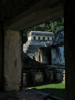 Temple at Palenque