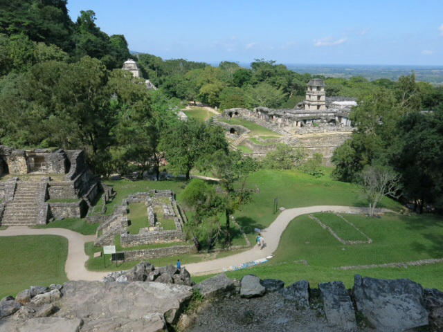 View from the top of the Temple
