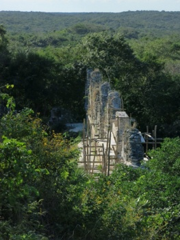 Restoration at Uxmal