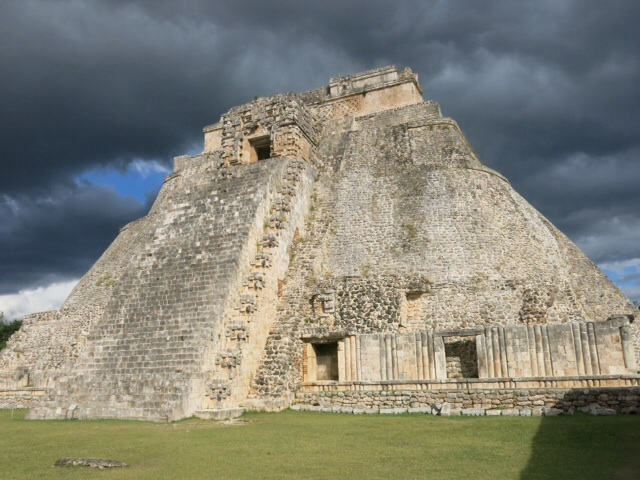 Round Pyramid at Uxmal