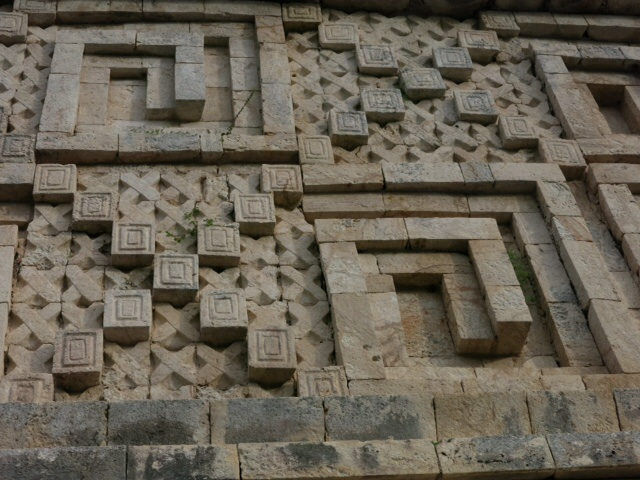 Carvings at Uxmal