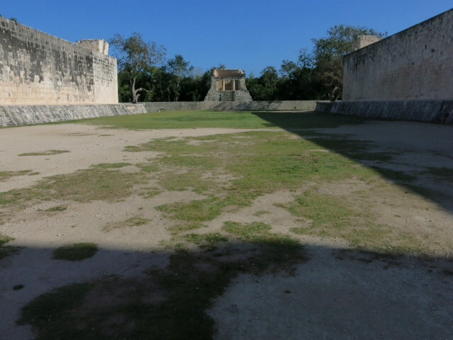 Ball court at Chichen Itza