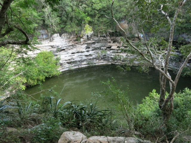Sacred Cenote at chichen Itza
