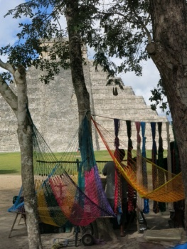 Traders at Chichen Itza