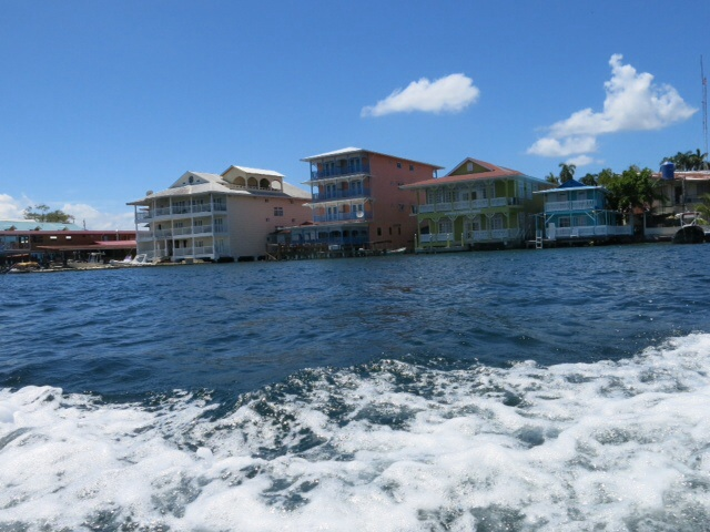 Bocas from the ferry
