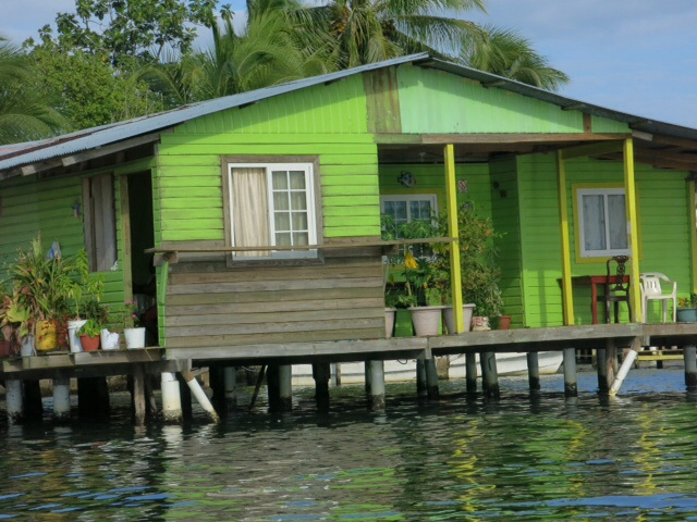 House on waterfront in Bocas