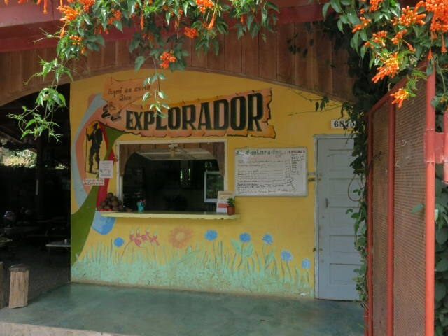 Entrance to Explorador