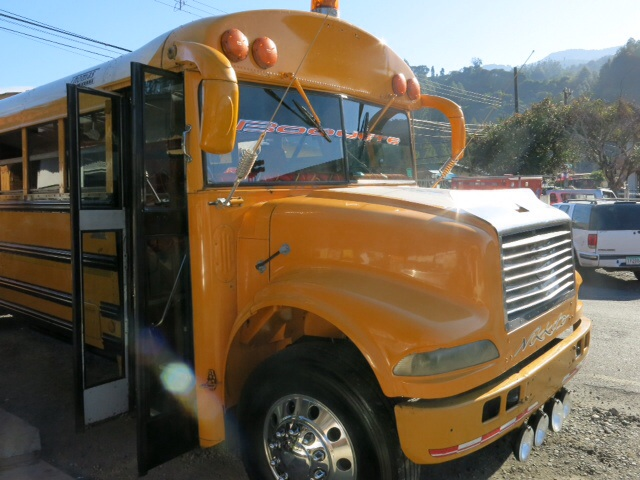 Bus from Boquete