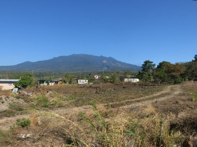 Last view of Volcan Baru