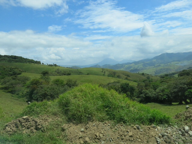 On the way to Monteverde