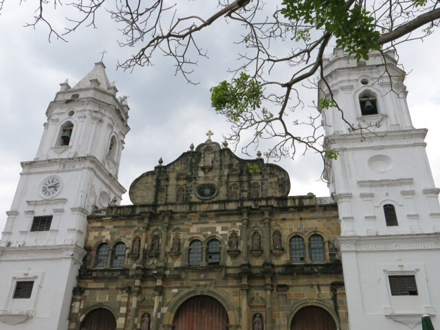 Cathedral in Casco Viejo