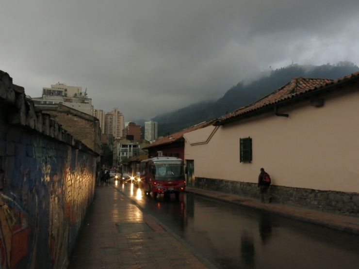 Wet and grey in Bogota