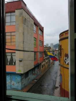 View from my room in Bogota