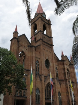 The main church in Neiva