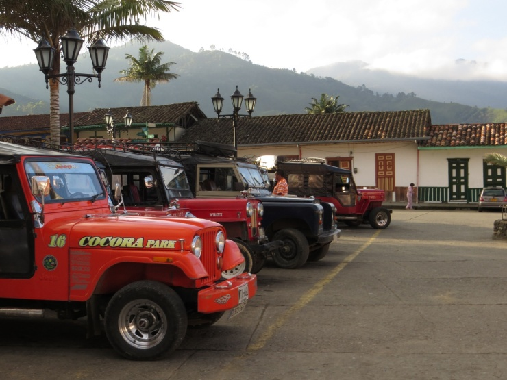 Willy's jeeps in the Plaza
