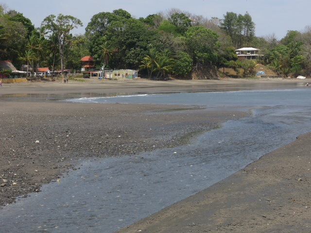 Santa Catalina at low tide