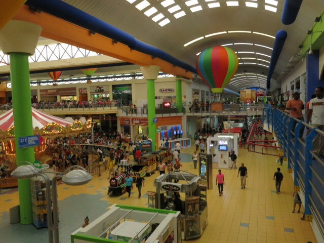 Food Court in Allbrook shopping Mall