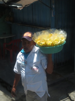 Pineapple seller