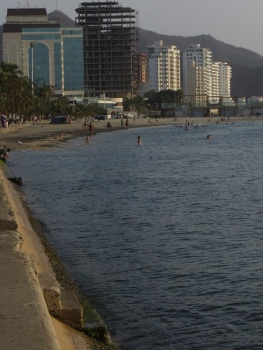 The waterfront in Santa Marta