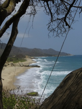 Ocean view in Tayrona Park