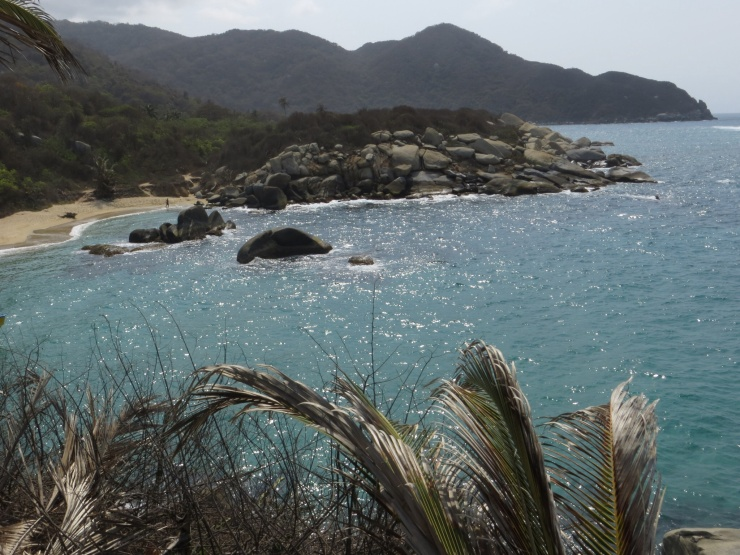 View from the hammock tower in Tayrona