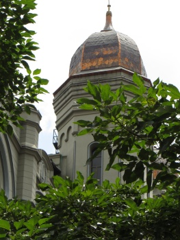 Church dome in Medellin