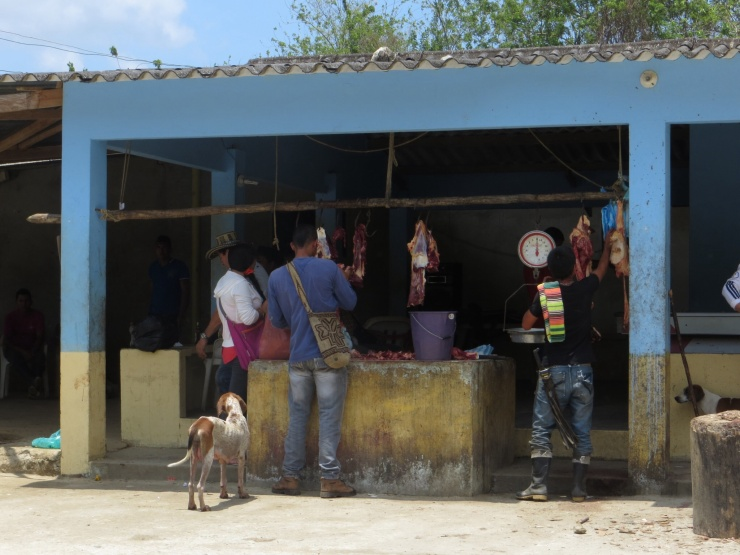 Butcher's shop in Machete Pelao