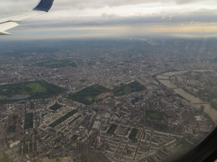 London from the air