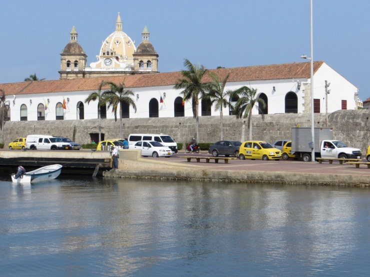 View in Cartagena