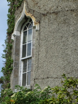 Window in Malahide Castle
