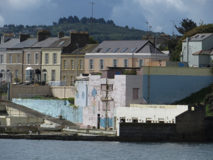 Buildings on the waterfront at Dun Laoghaire