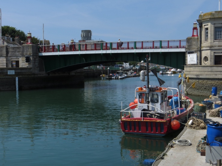 Bridge over the harbour in Weymouth