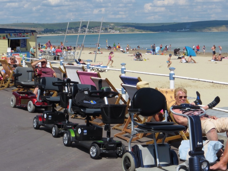 A typical sight in Weymouth!