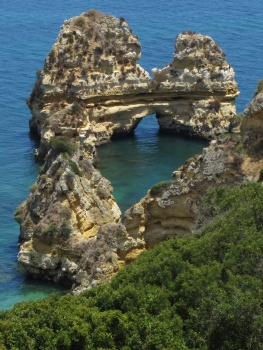 One of the many rock arches near Lagos