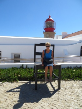 The big chair in Sagres
