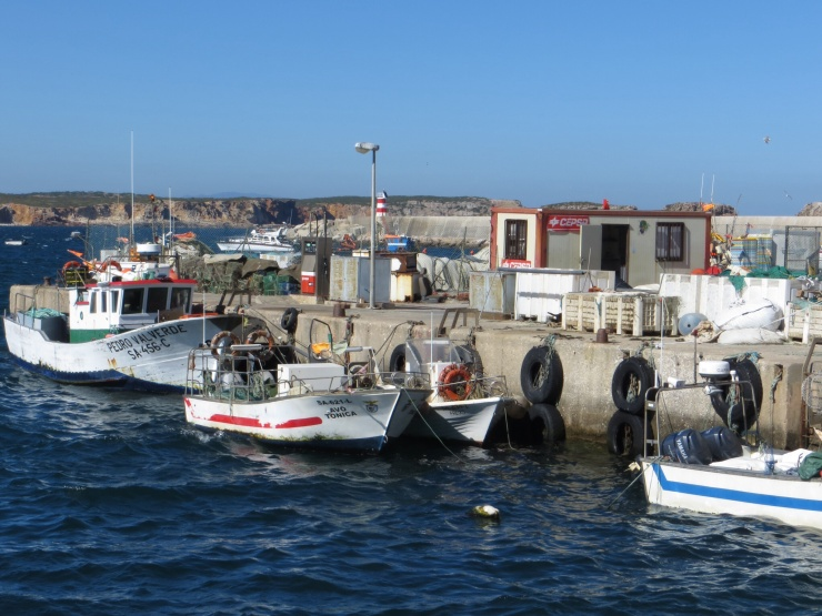 Sagres fishing port