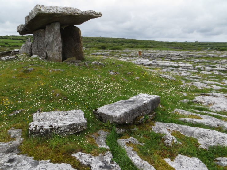 Portal tomb at The Burren