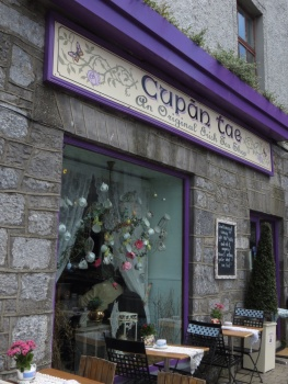 Tea shop in Galway