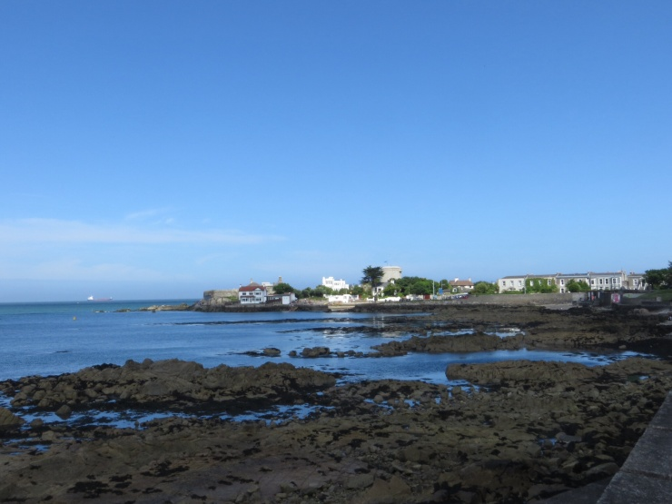 Sandycove waterfront