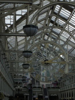 Inside St Stephen's Green shopping centre