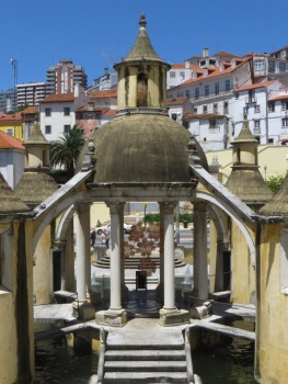 Fountain in Coimbra