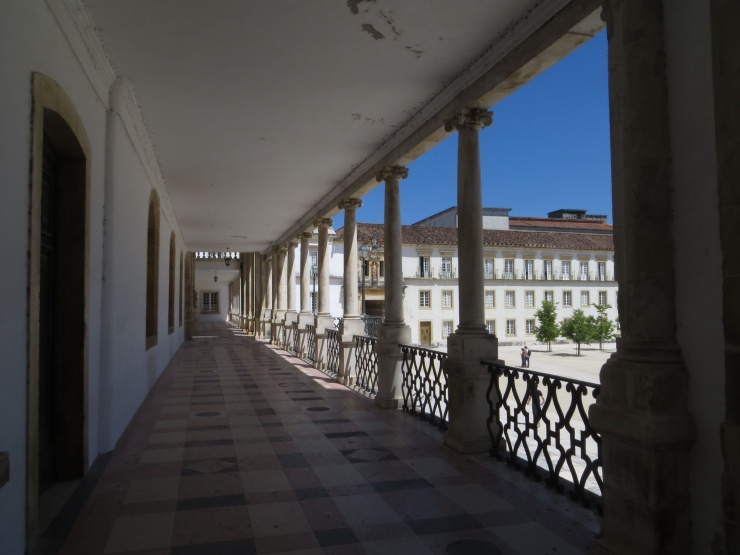 Balcony of the former Palace/University
