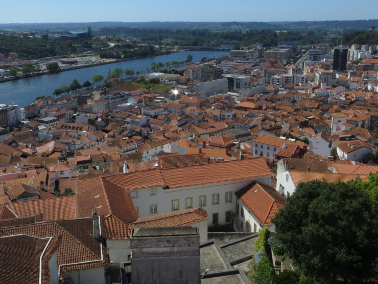 View of Coimbra from the University