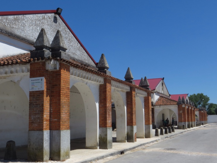 Old Market under renovation in Tomar
